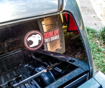 Skunk Ape Decal