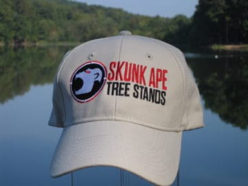 Skunk Ape Full Panel Khaki Hat